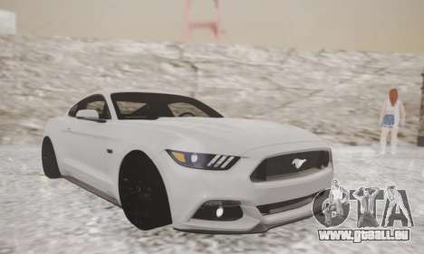 Ford Mustang GT 2015 Stock für GTA San Andreas linke Ansicht
