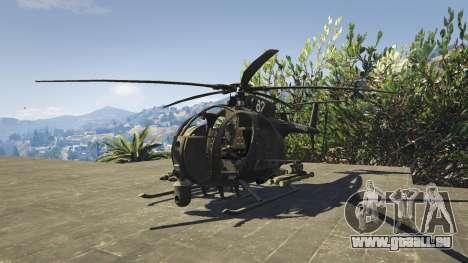 MH-6/AH-6 Little Bird Marine pour GTA 5