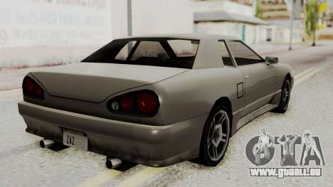 Elegy The Gold Car 1 für GTA San Andreas linke Ansicht