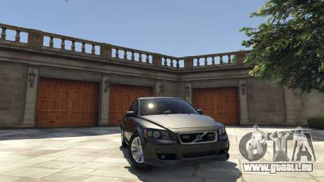 Volvo C30 Unmarked Police pour GTA 5