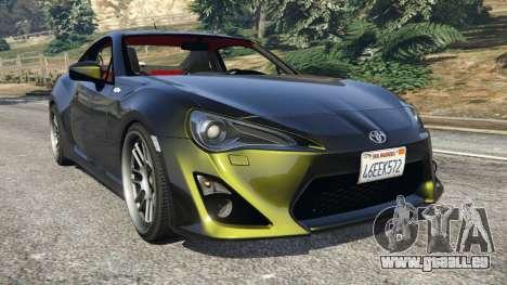 Toyota GT-86 v1.2 pour GTA 5