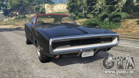 Dodge Charger RT 1970 v3.1 pour GTA 5