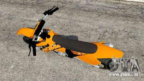 KTM 450SX Racing 2007 pour GTA 5