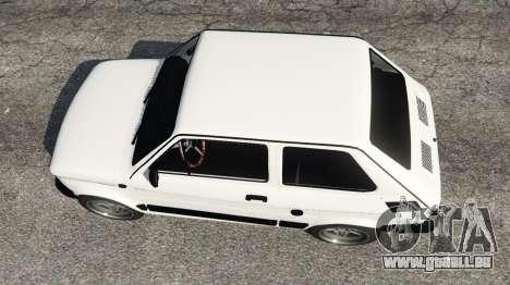 GTA 5 Fiat 126p v0.5 vue arrière