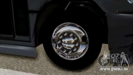 Marcopolo Boxer Ammosa pour GTA San Andreas sur la vue arrière gauche