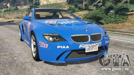 BMW M6 (E63) WideBody v0.1 [Pagid RS] pour GTA 5