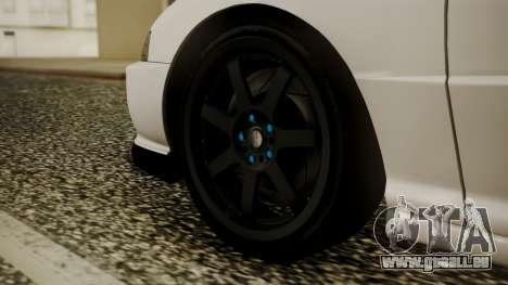 Honda Integra R Spoon pour GTA San Andreas sur la vue arrière gauche