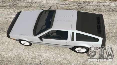 GTA 5 DeLorean DMC-12 Rückansicht