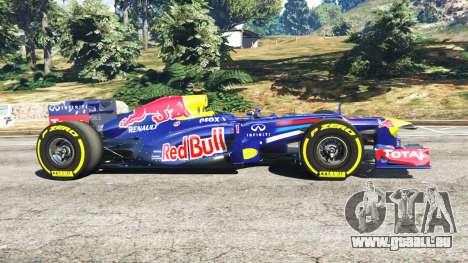 GTA 5 Red Bull TB8 [Sebastian Vettel] vue latérale gauche