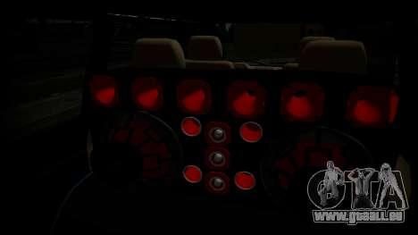 Toyota Kijang Tuned Stance pour GTA San Andreas sur la vue arrière gauche