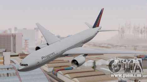 Boeing 777-200LR Philippine Airlines für GTA San Andreas