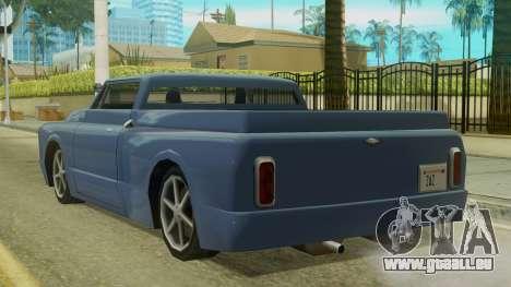 Kounts Pickup PaintJob pour GTA San Andreas laissé vue
