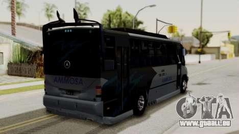 Marcopolo Boxer Ammosa pour GTA San Andreas laissé vue