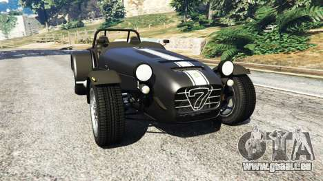 Caterham Super Seven 620R v1.5 [black] pour GTA 5