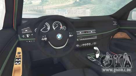 GTA 5 BMW 525d (F11) Touring 2015 (UK) droite vue latérale