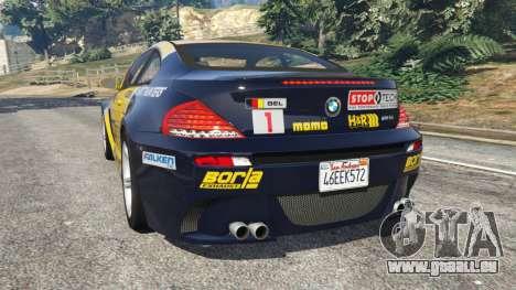 BMW M6 (E63) WideBody v0.1 [StopTech] pour GTA 5
