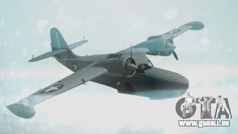 Grumman G-21 Goose Military für GTA San Andreas