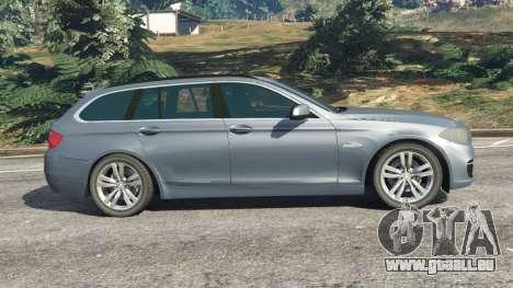 GTA 5 BMW 525d (F11) Touring 2015 (US) linke Seitenansicht