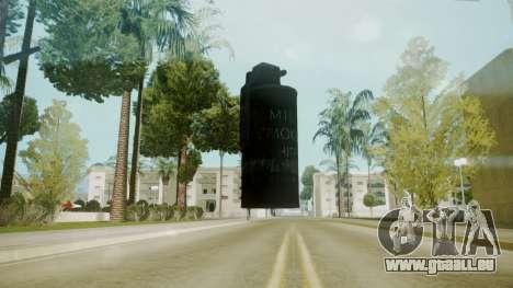 Atmosphere Tear Gas v4.3 für GTA San Andreas zweiten Screenshot