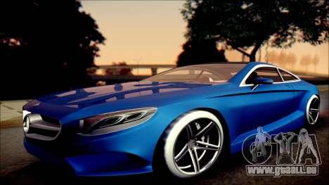 Mercedes-Benz S Coupe Vossen cv5 2014 pour GTA San Andreas