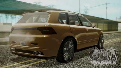 GTA 5 Obey Rocoto pour GTA San Andreas laissé vue