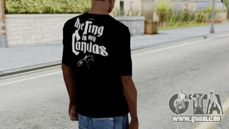 Jeff Hardy Shirt v3 für GTA San Andreas dritten Screenshot