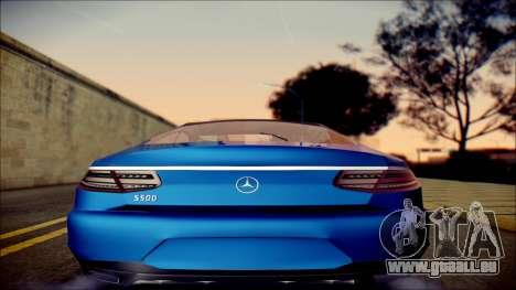 Mercedes-Benz S Coupe Vossen cv5 2014 pour GTA San Andreas vue de droite