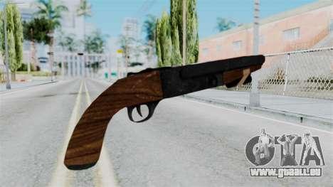 Sawnoff Shotgun from RE6 für GTA San Andreas zweiten Screenshot