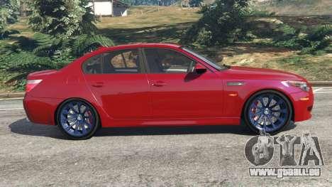 BMW M5 (E60) 2006 für GTA 5