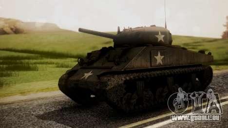 M4A3 Sherman für GTA San Andreas