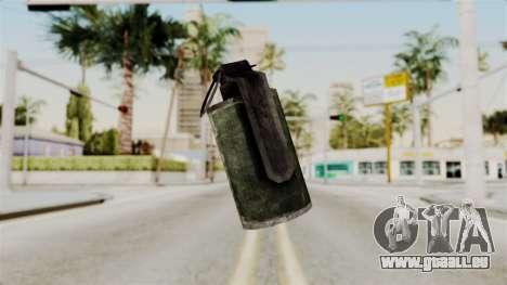 Grenade from RE6 für GTA San Andreas
