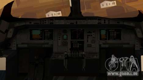 Airbus 350-900XWB Around The World pour GTA San Andreas vue arrière