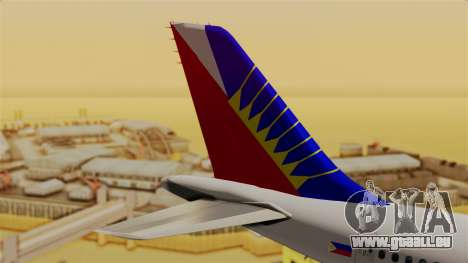 Airbus A310-300 Philippine Airlines Livery pour GTA San Andreas sur la vue arrière gauche