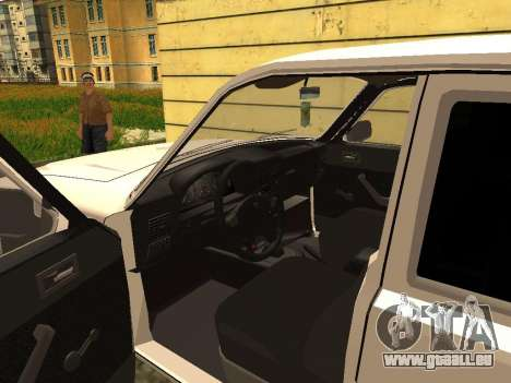 GAZ 3102 Volga für GTA San Andreas Rückansicht