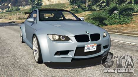 BMW M3 (E92) WideBody v1.0 pour GTA 5