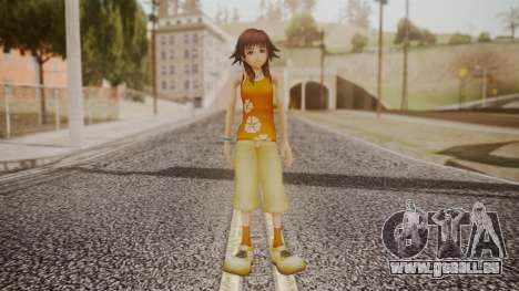 Kingdom Hearts 2 - Olette pour GTA San Andreas deuxième écran