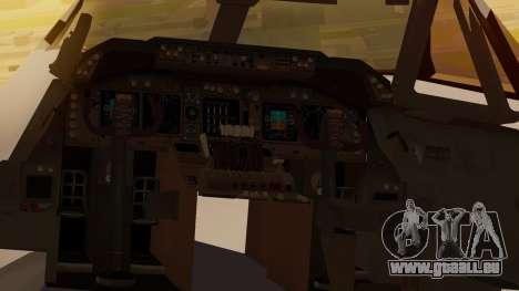 Boeing 747-100 All Nippon Airways für GTA San Andreas Rückansicht