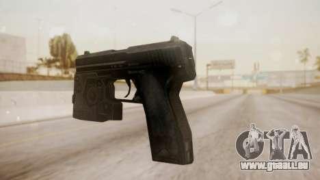 USP 45 from CoD MW pour GTA San Andreas deuxième écran