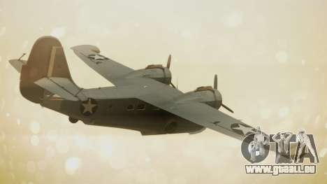 Grumman G-21A Goose pour GTA San Andreas laissé vue