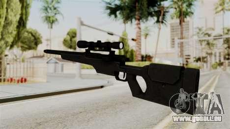 Rifle from RE6 pour GTA San Andreas deuxième écran