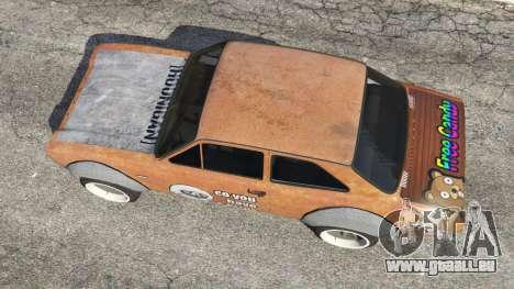 Ford Escort MK1 v1.1 [Hoonigan] für GTA 5