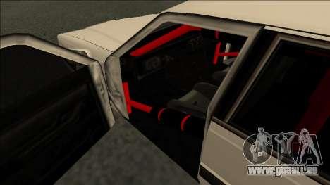 Willard Drift pour GTA San Andreas vue de droite