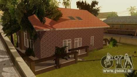 New Ryder House pour GTA San Andreas troisième écran