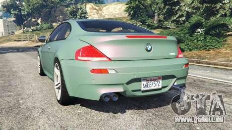 BMW M6 (E63) Tunable pour GTA 5