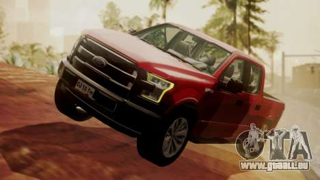 Ford F-150 2015 Stock für GTA San Andreas