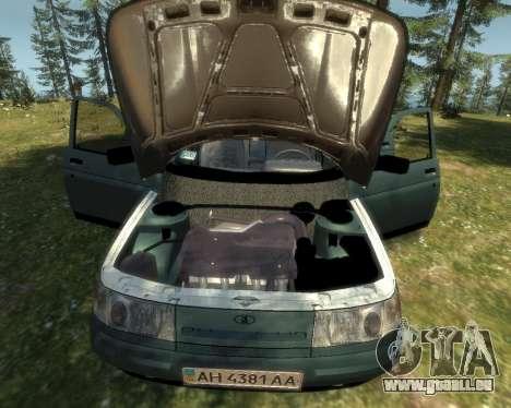 VAZ 21103 v1.1 pour GTA 4 Vue arrière de la gauche