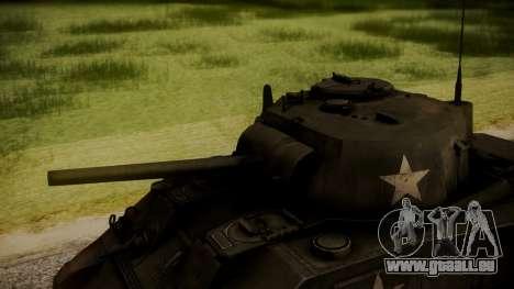 M4A3 Sherman für GTA San Andreas rechten Ansicht