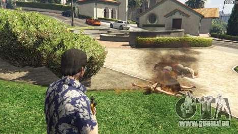 GTA 5 Lance-flammes pour GTA 5 troisième capture d'écran