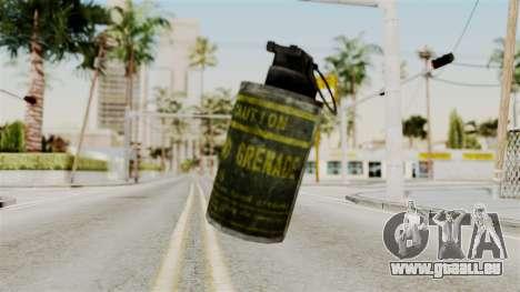 Grenade from RE6 für GTA San Andreas zweiten Screenshot