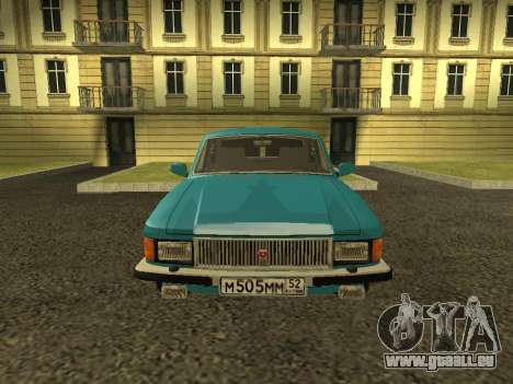GAZ 3102 Volga für GTA San Andreas rechten Ansicht
